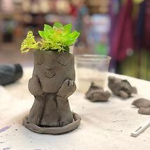 Clay Pot Head w Plant.jpeg