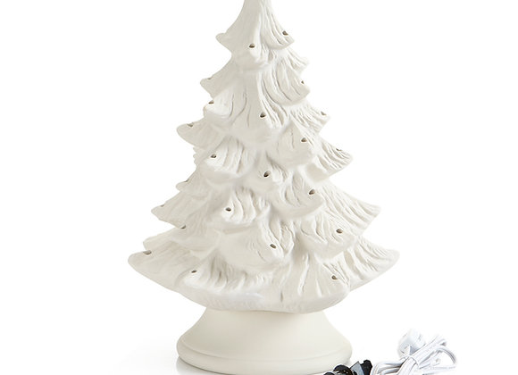 Vintage Christmas Tree, Large (9.5W x 14H)