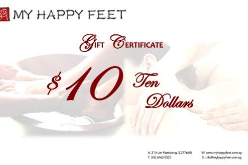 MHF $10 Gift Voucher