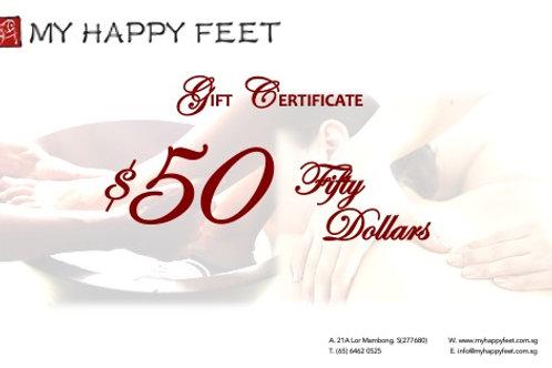 MHF $50 Gift Voucher