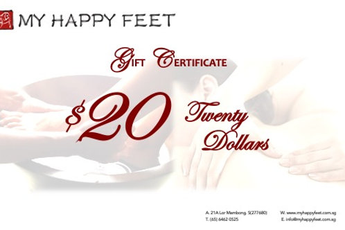 MHF $20 Gift Voucher