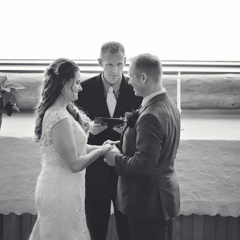 Mike & Alisha Big Sky Wedding