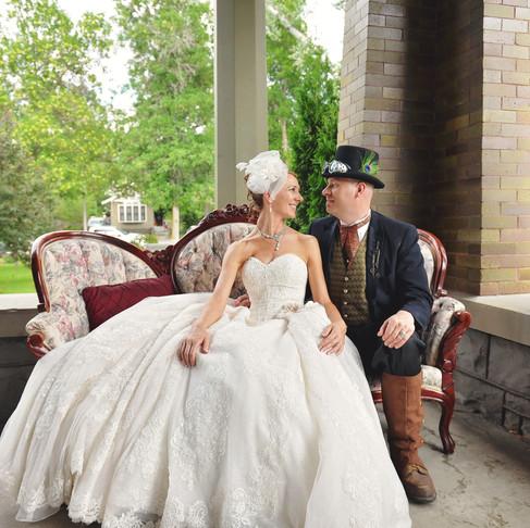 Casey & Mandy's Story Mansion Wedding