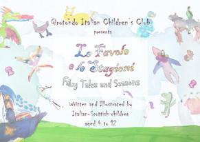 Le Favole & Le Stagioni - Fairly Tales & Seasons Booklet