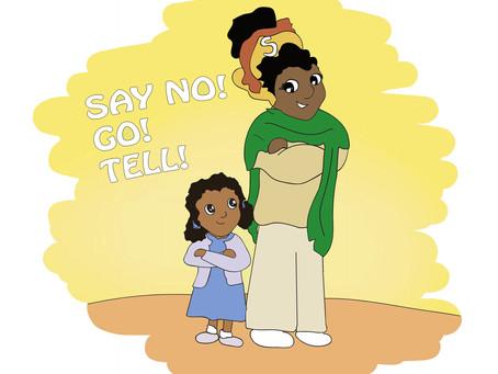Illustrations for Amina's Secret
