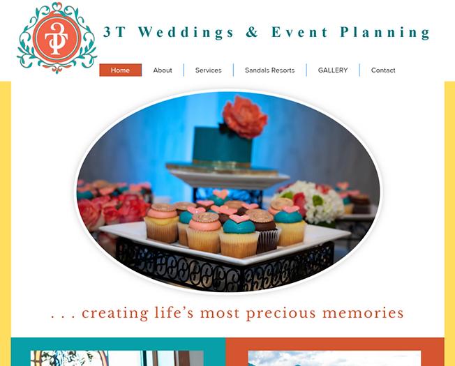 3T Weddings Website Screenshot.png