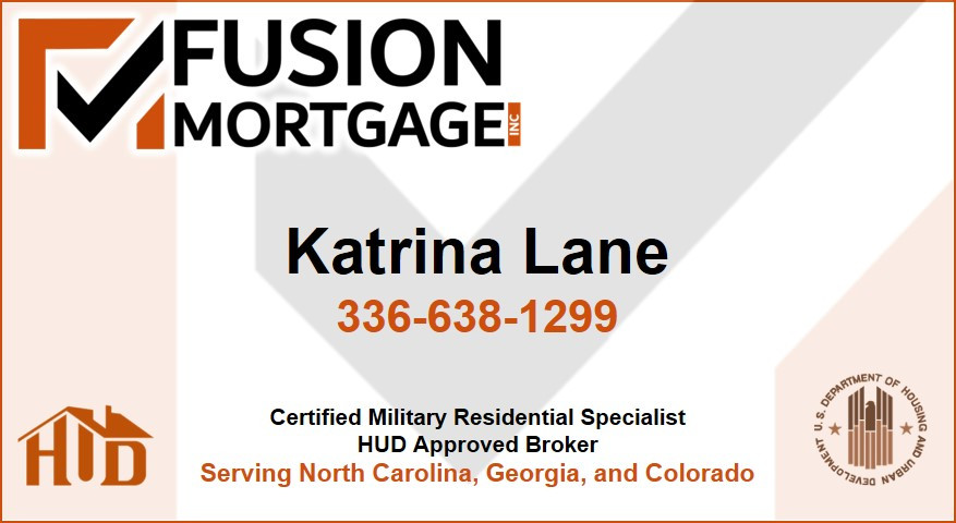 FUSION Mortgage Inc - Business Card Fron