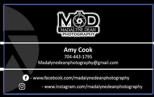 Madalyne Dean Photography Business Card