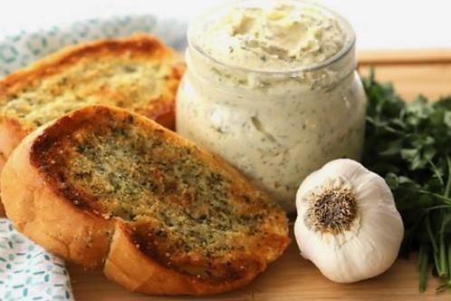 Garlic Parmesan Butter- 4 oz Jar