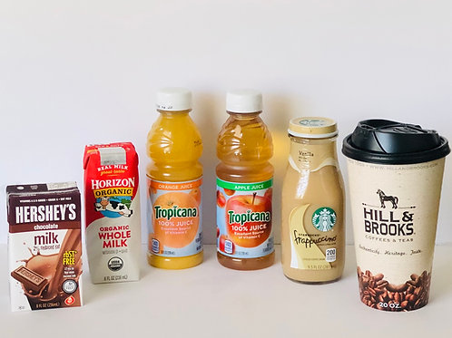 Breakfast Drink Selection