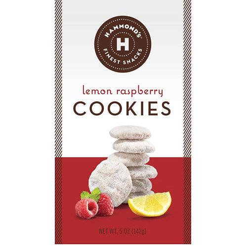 Lemon Raspberry Cookies