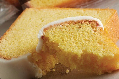Breakfast Iced Lemon Loaf with Butter