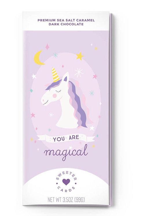 Unicorn Chocolate Bar + Card