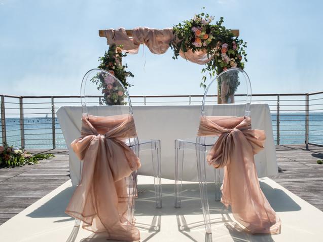 Matrimonio sul mare