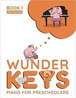 WunderKeys has method books for preschoolers.