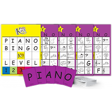 KiddyKeys has a bingo game.