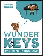 WunderKeys has books for Primer Level (age 6+)