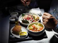 Llegaron los chiles en nogada a Aeroméxico