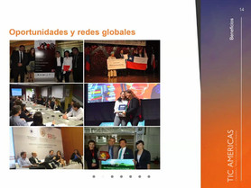 TIC AMERICANAS Competencia              Talento e Innovación de las Américas Latinas.