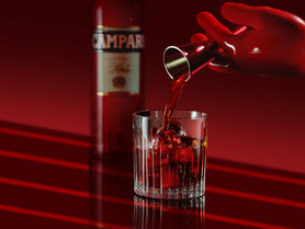 Presenta Campari el Cortometraje Entering Red