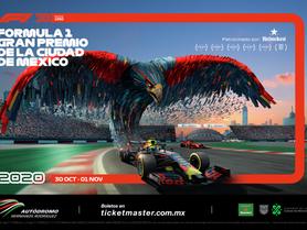 ¡Bienvenido Fórmula 1 Gran premio de la Ciudad de México