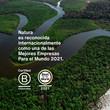 Natura es reconocida internacionalmente como una de las mejores empresas para el mundo