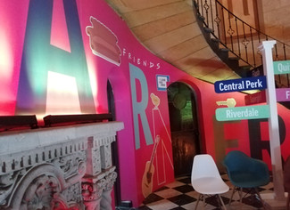 Revive la magia de Friends en la casa Warner House de México.