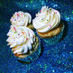 Cupcakes de triple chocolate