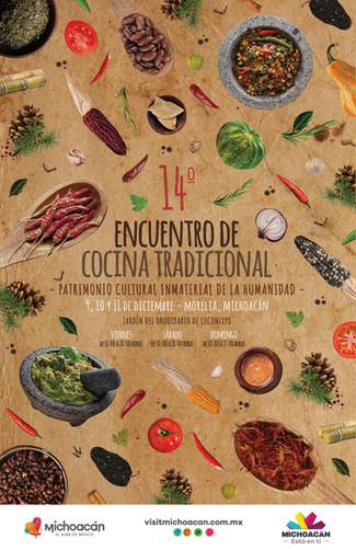 Michoacán se prepara para el XIV Encuentro de Cocina Tradicional