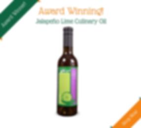 Jalapeno Lime Culinary Oil