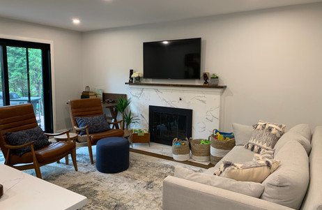 Full after photo of living room