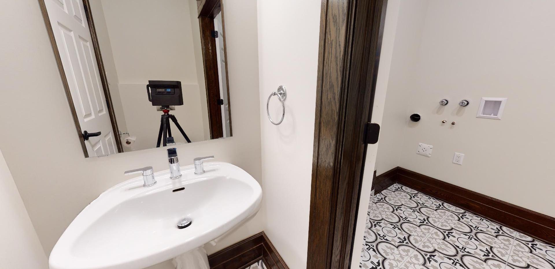 MAIN FLOOR BATHROOM AFTER