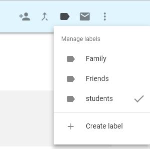 יצירת קבוצה בגימייל gmail