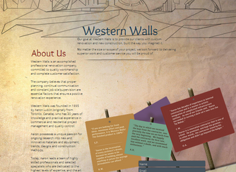 Western Walls renovations and interior design