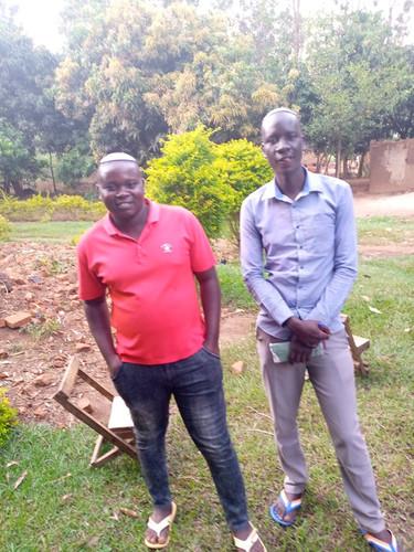 Rabbi-in-Training Yoseph (right)