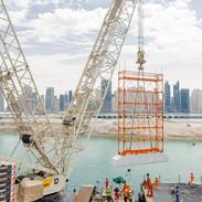 Dubai Harbour Marine Works