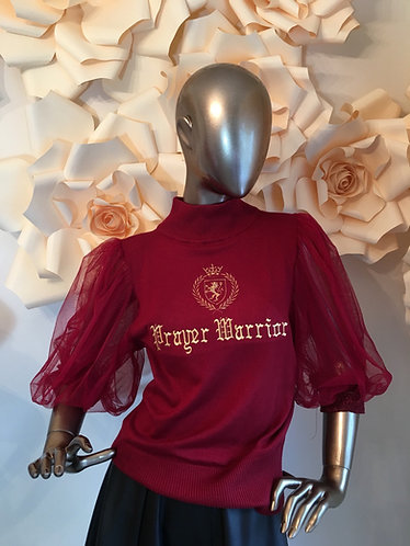 Anna Prayer Warrior Top