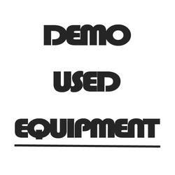 Used & Demo Equipment
