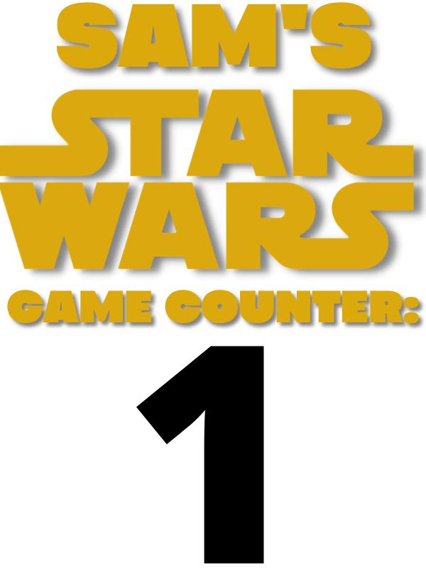 Samuel Joseph Smythe's first Star Wars Video Game