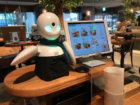 世界初の分身ロボットカフェでお食事しました!