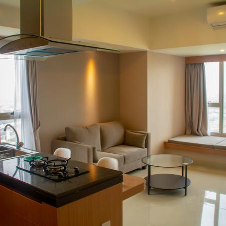 Westwood lantai 18 (1 Bedroom 50m2) Sewa Rp. 130 Juta / Tahun