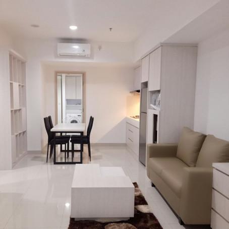 [Tersewa] Glendale lantai 18 (1 Bedroom 55m2) Sewa Rp. 140 Juta / Tahun