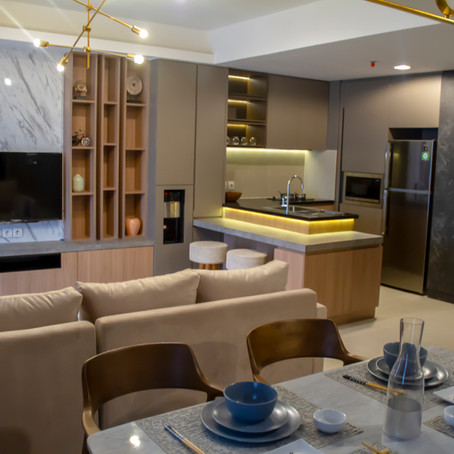 [Ready] Pasadena lantai 35 (2 Bedrooms 98m2) Sewa Rp. 225 Juta / Tahun
