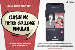 KESEMPATAN JADI HOST EVENT CLAS:H KEMBALI DIBUKA! MC DIPILIH DARI TIKTOK CHALLENGE