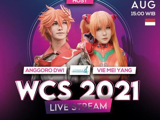 CLAS:H akan LIVE STREAM WCS 2021 bersama ANGGORO DWI dan VIE MEI YANG