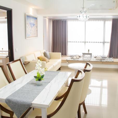 Unit Irvine lantai 20 (3 Bedrooms 128m) Sewa Rp. 275 Juta / Tahun