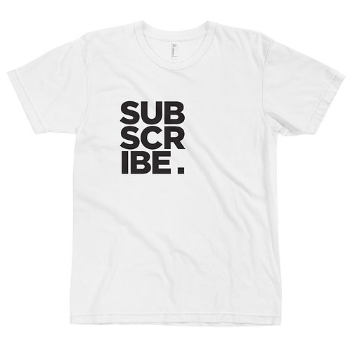 SUBSCRIBE. – BLACK