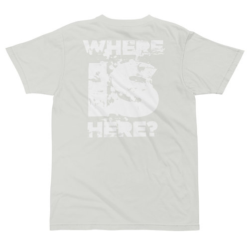 WHERE IS HERE? – WHITE