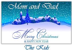 Merry Christmas Mom and Dad Sample