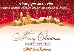 CHRISTMAS GREETING CARD SAMPLE